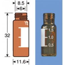 VIAL C/R N9-1 AMBAR AREA P/ROT.AB.LARG 11,6X32MM 1,5ML C/100