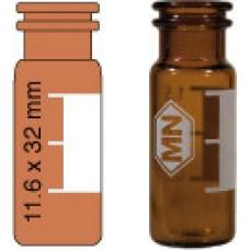 VIAL S/R N11-1 AMBAR C/ANEL AREA ROT/ABERT.LARG.1,5ML C/100