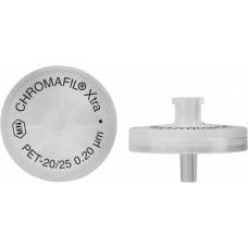 FILTRO P/SERINGA CHROMAFIL XTRA PET 25MM 0,20UM C/100PC