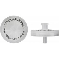 FILTRO P/SERINGA CHROMAFIL XTRA PES 25MM 0,45UM C/100PC