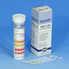 QUANTOFIX NITRITO/PH 0-80 MG/L NO2 / 6-9,6 PH C/100 TIRAS