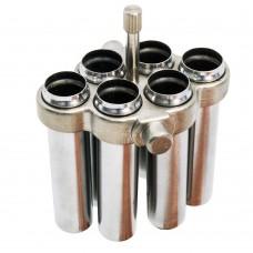 CONJUNTO COM 24 CAÇAPAS PARA TUBOS DE 15 ML COMPATÍVEL COM K14-M9