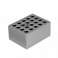BLOCO DUPLA FACE P/ MICROTUBOS 0,5ML-1,5ML COMPATÍVEL C/ K80-S E K80-D