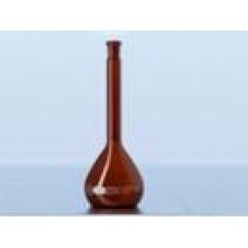 Balão volumétrico com rolha poli classe A ambar Capacidade 250 ml – 21678366