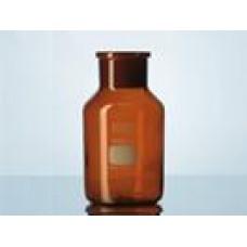 Frasco para reagente boca larga esmerilhada sem rolha âmbar Capacidade 100 ml - 2118724