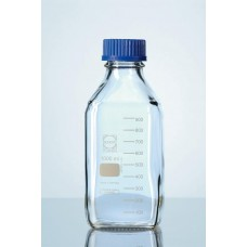 Frasco quadrado para reagente .Azul disp. Antigota Capacidade 500 ml - 21820445