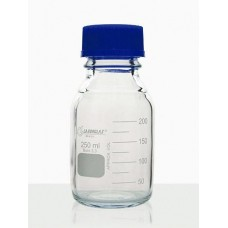 Frasco Reagente com Rosca com Tampa de Rosca e Anel Antigota Azul em PP Capacidade 500 ml – 91801445