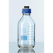 Frasco reagente Graduado para pressão com tampa de 4 saidas para hplc e disp. Antigota Capacidade 1.000 ml - 1129820