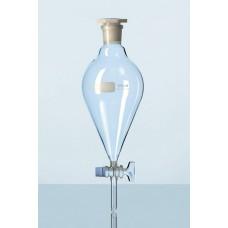 Funil separação squibb (pera) rolha Vidro torneira de PTFE Capacidade 125 ml - 2429424