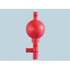 Pipetador de borracha 3 vias Schott Capacidade 25 ml - 2927110